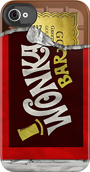 Wonka Bar phone cover