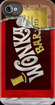 Wonka Bar phone cover