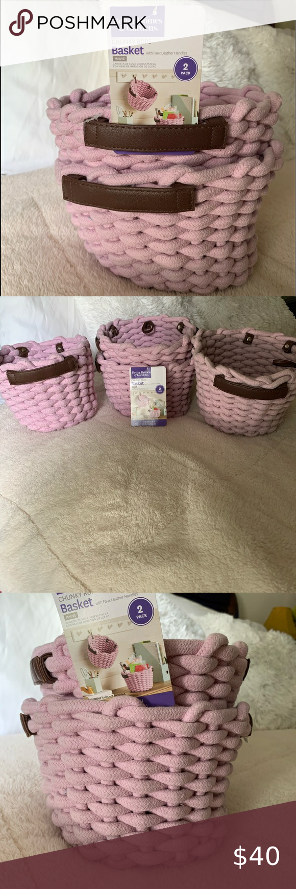 471ce043492f96e033f1759f38329ea5 - Better Homes And Gardens Chunky Rope Basket