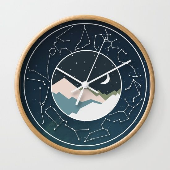 Astrology Zodiac Clock Clock Wall Clock Diy Clock