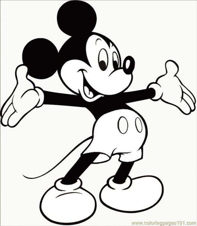 Mickey Mouse Pictures Printable Coloring Pages Y Mouse Cartoons Mickey Mouse Mickey Mouse Coloring Pages Mickey Mouse Wall Art Mickey Mouse Pictures