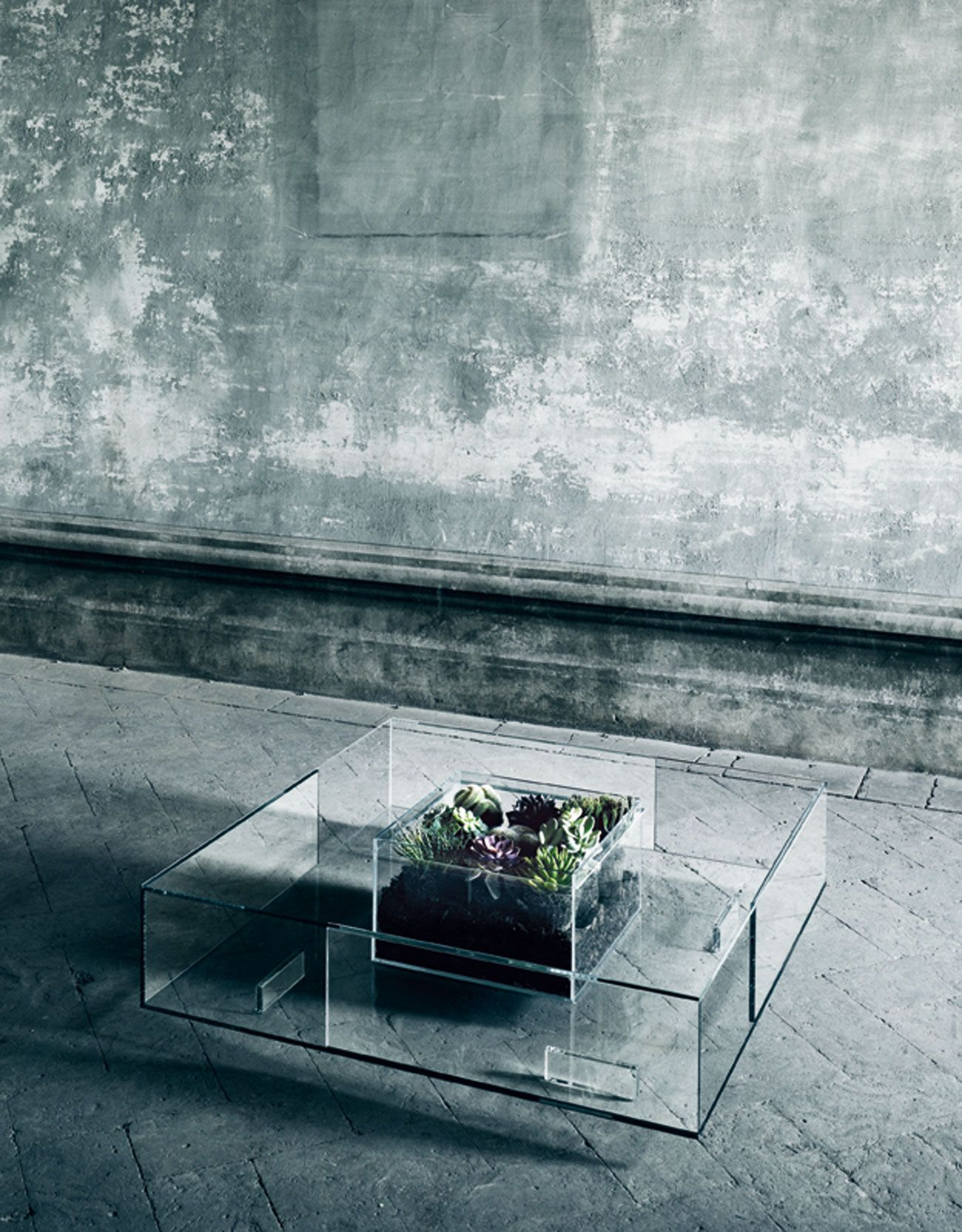 Seasons An All Season Glass Table By Jean Marie Massaud For Glas