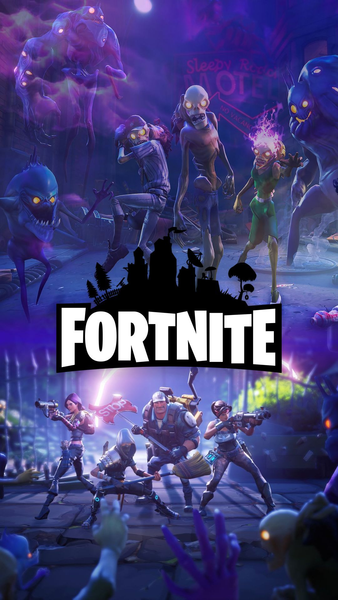 Pin oleh Markruse17 di Wallpaper Fortnite di 2020 (Dengan