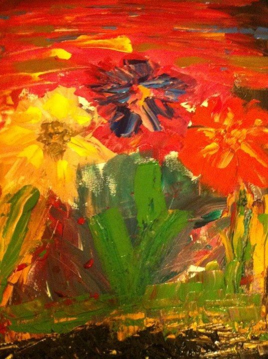 "My Painting ""Flores"""