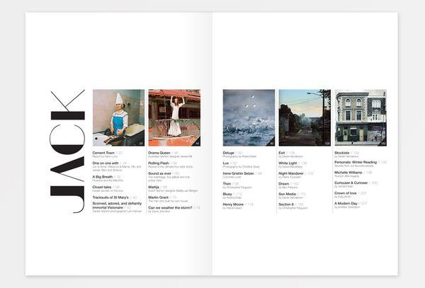 Jack - Fashion, Art & Culture Magazine Institute | Designer: Noémie Pottiez | Image 2 of 3