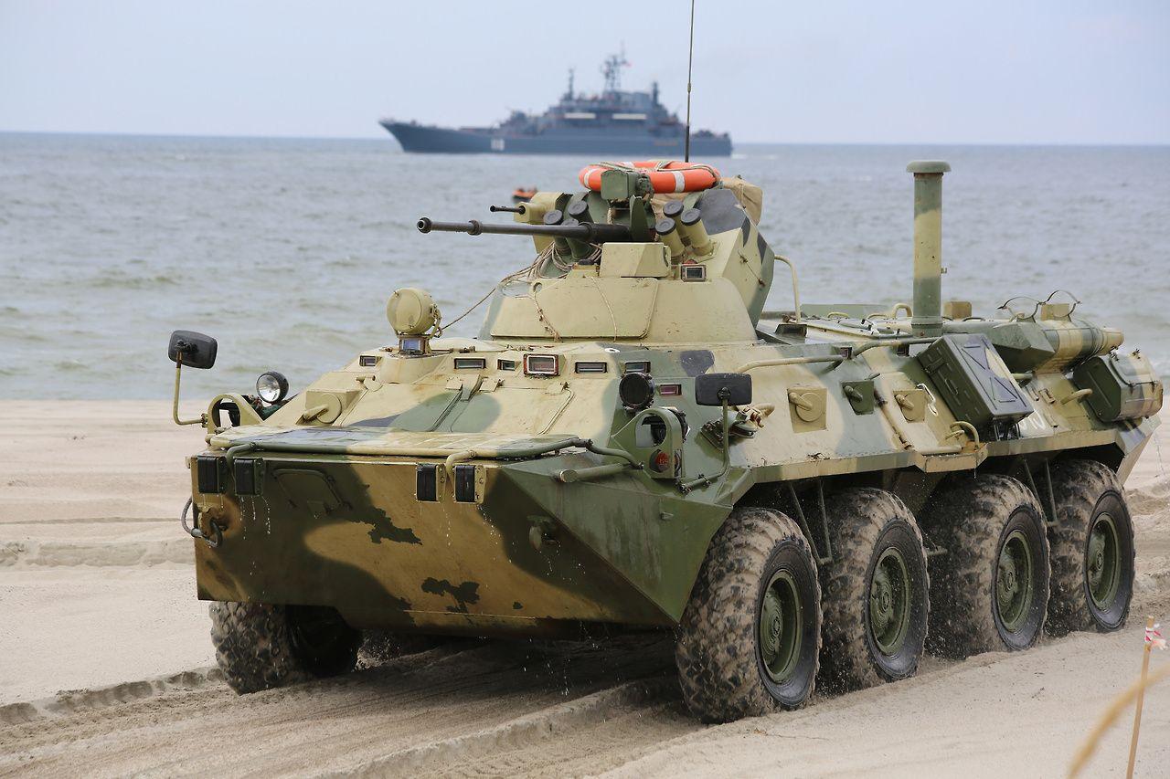 """militaryarmament: """"BTR-80. """""""