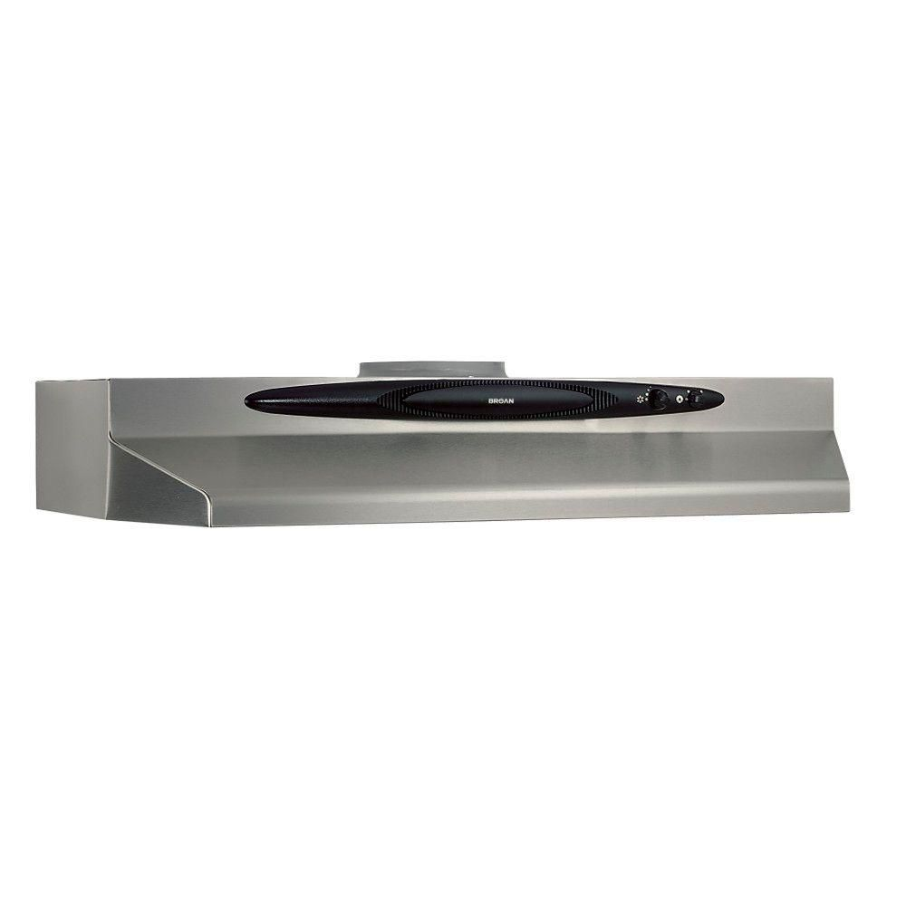 quiet kitchen hood small design broan qt20000 30 in convertible range stainless steel qt230ss the home depot