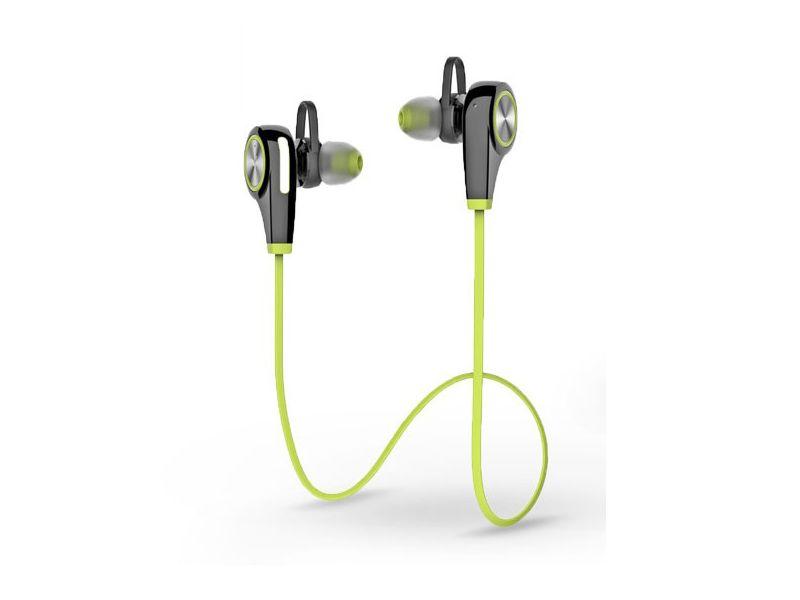 Devia Swift Sport Bluetooth sztereó headset v4.1 - MultiPoint - green black 3e25d8dce9