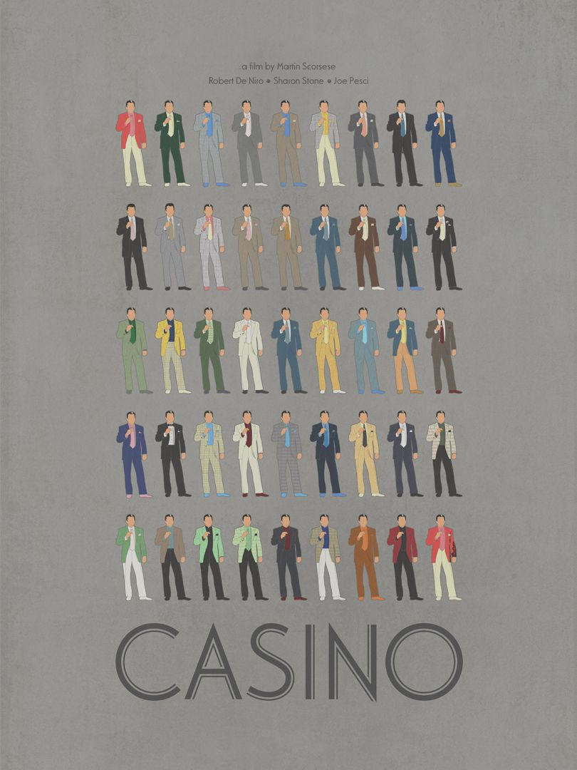 Robert De Niro In Casino Color 24X36 Poster Print