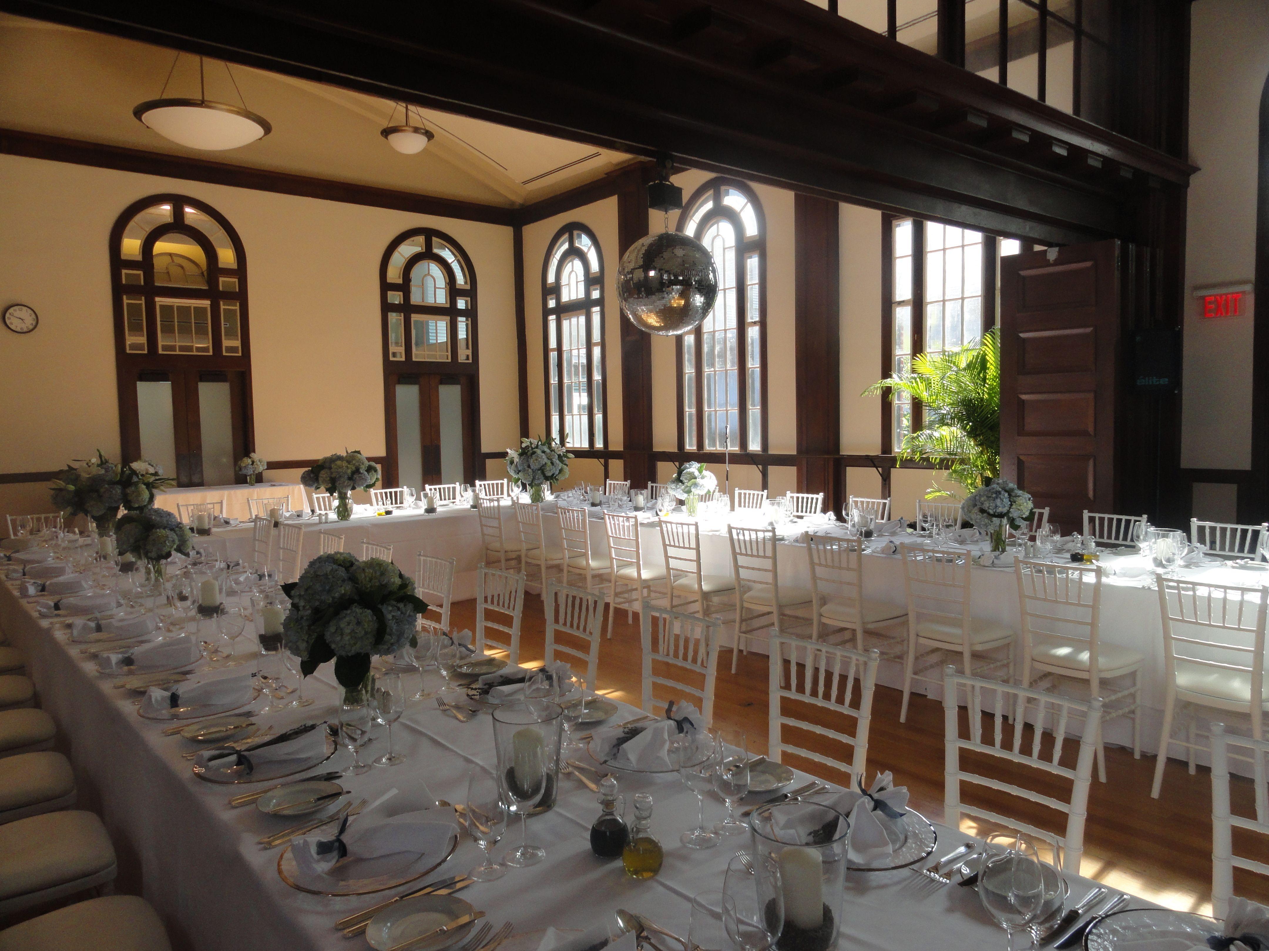 Wedding dinner Venue National Ballet School, Toronto ON