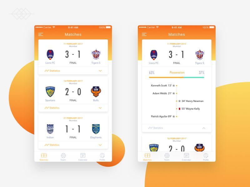 Football Soccer Score Soccer Scores Football App Sports App