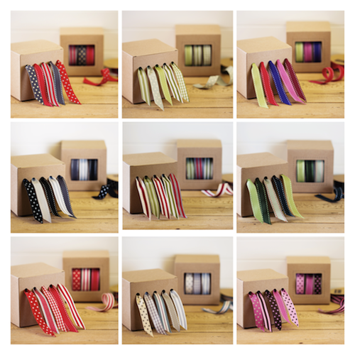 jane means ribbon dispensers Craft room, Ribbon storage