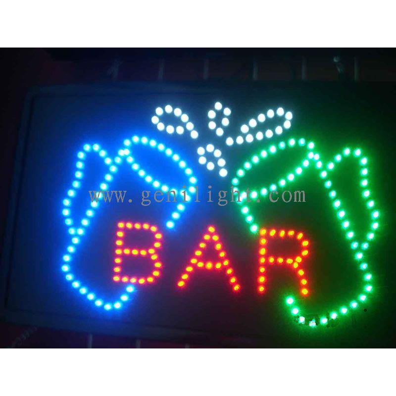 Juice Cocktails LED Sign