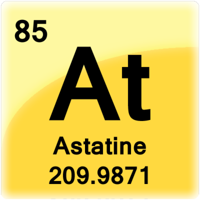 Get facts about the element astatine periodic table and chemistry get facts about the element astatine this is a periodic table tile for the element urtaz Gallery
