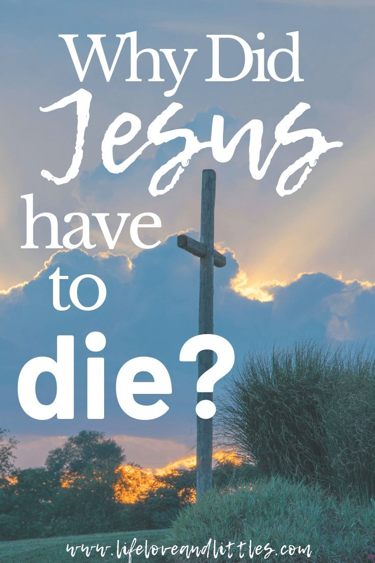 Why Did Jesus Die on the Cross? What does it mean Jesus died for our sins? Read more for a simple understanding! #jesuschrist #easter #biblestudy #biblestudies #Jesusresurrection #faith #devotions #christian #christianity #theology #scripturestudy #wordofgod #bible #gospel #easterstory #christianliving