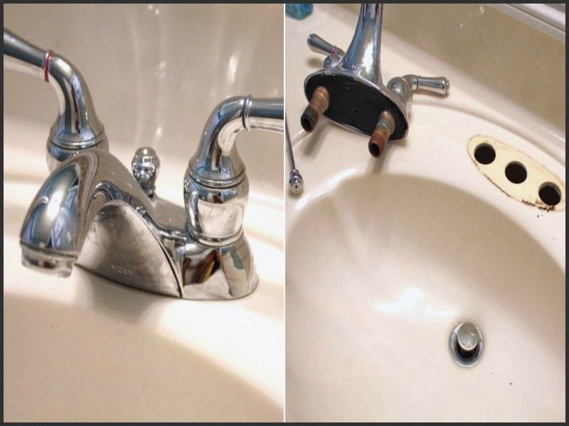 Easy Diy How To Change A Bathroom Faucet Replace Bathroom Faucet Diy Bathroom Bathroom Faucets