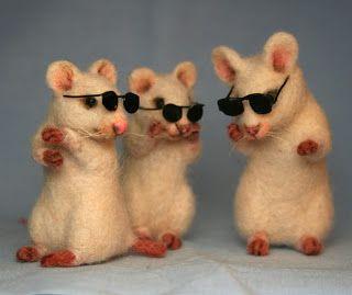 inkspired musings: Nursery Rhyme Time with 3 Blind Mice