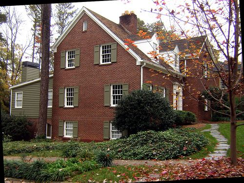 Architecture Tourist Jeff S Shutters 3 Completed Red Brick House Brick House Exterior Colors Brick Exterior House