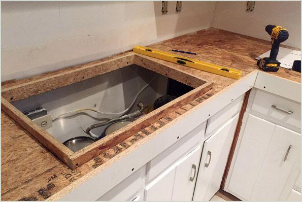 Diy Cast In Place Concrete Countertops Part 1 Countertops New