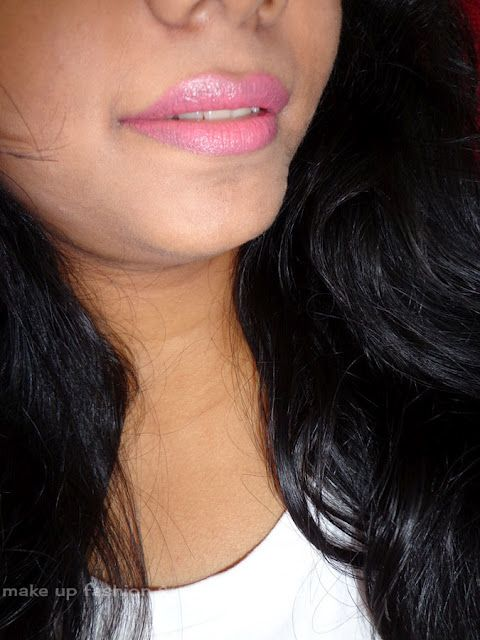 make up fashion & everything i like...: Bourjois Sweet Kiss Lipstick in Rose Folk- Review, Swatches & FOTD!