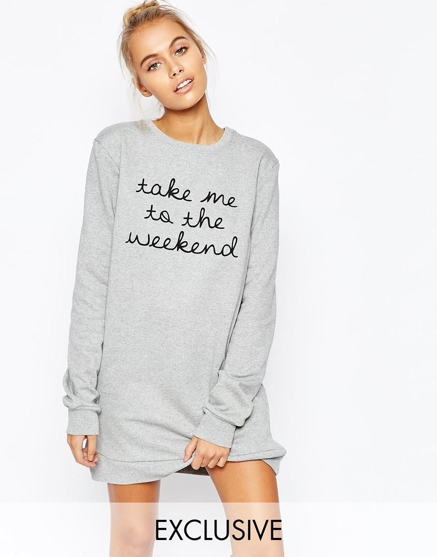 Adolescent Clothing | Adolescent Clothing Boyfriend Sweater Dress ...