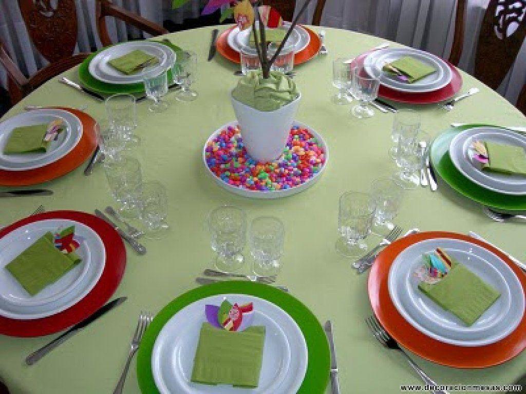 Decorar mesa para primera comuni n ideas para decorar - Decoracion de mesas para fiestas ...