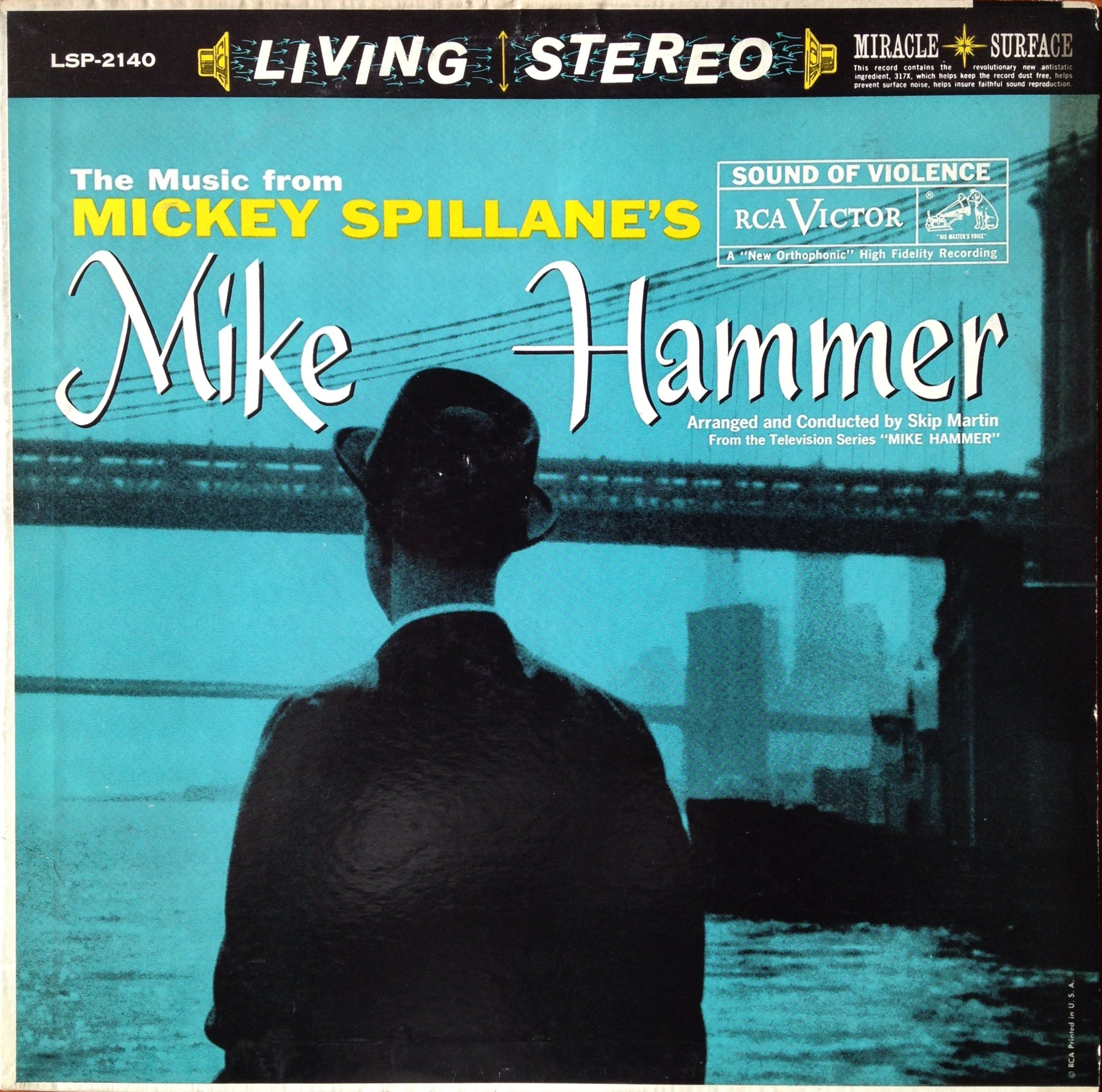 Image result for Mickey Spillane's Mike Hammer, music by Stan Purdy