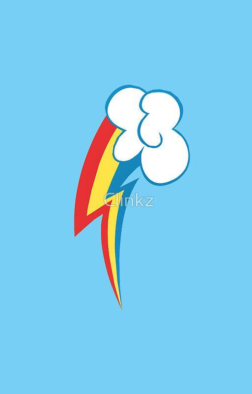 Rainbow Dash's Cutie Mark by Clinkz