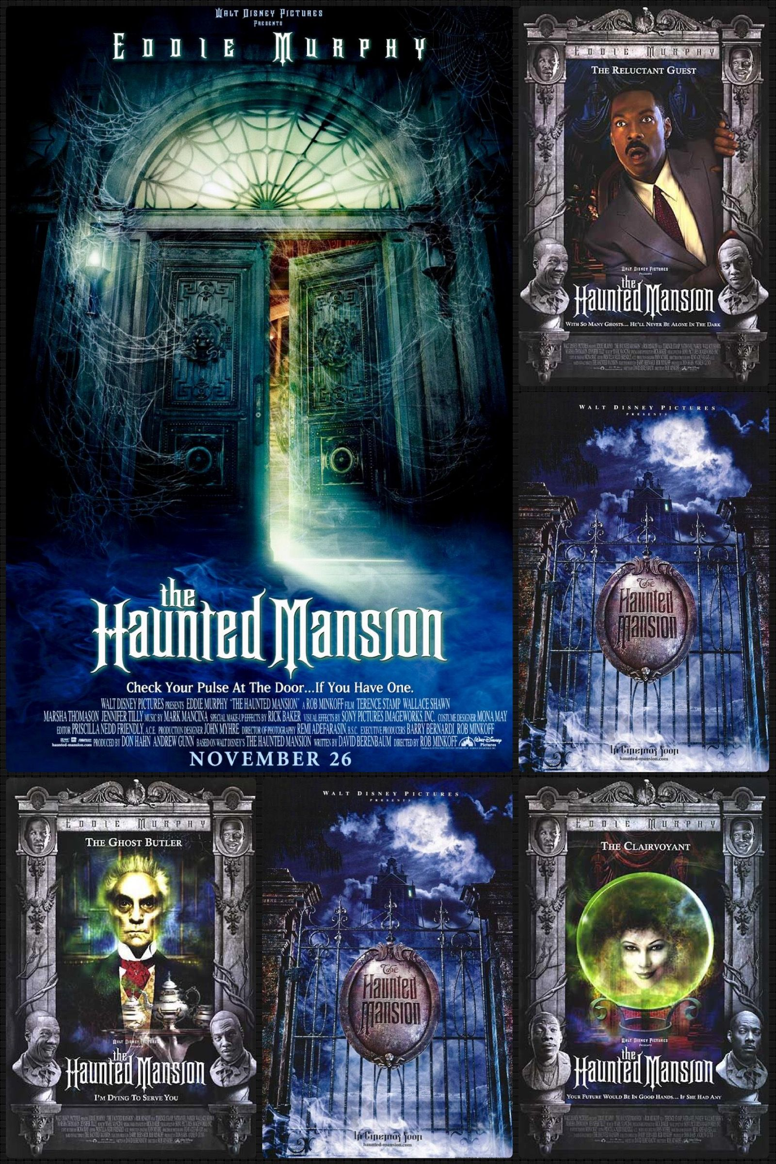 The Haunted Mansion Haunted Mansion Disney Pictures Movie Posters
