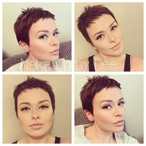 21 Short Pixie Hair Short Pixie Haircuts Super Short Hair Short Hair Styles