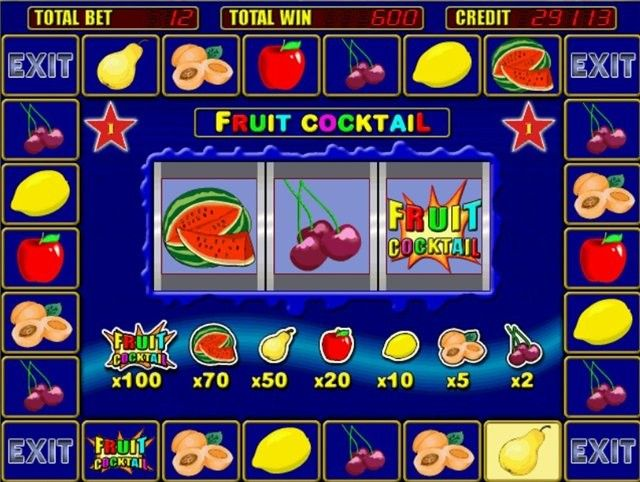Казино фрукты игровые в игровые автоматы