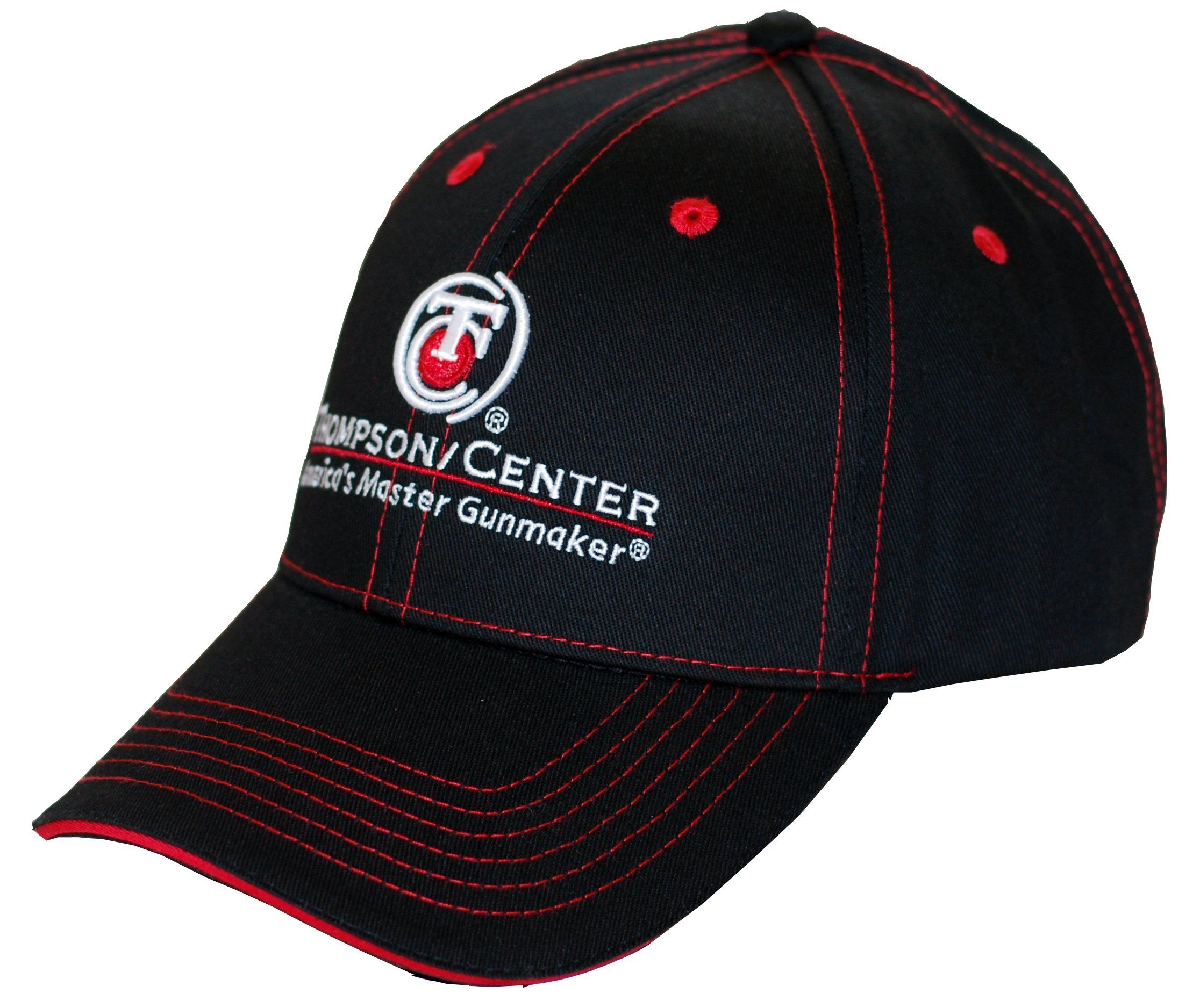 ee7473a3298 Thompson Center Black Logo Cap. Thompson Center Arms apparel lets everyone  know you