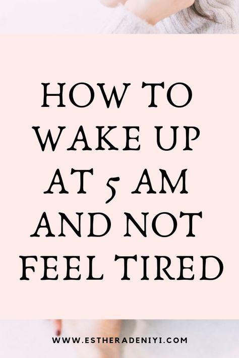 Das Aufwachen um 5 Uhr morgens hat mein Leben buchstäblich verändert!   – Inspo – quotes/life hacks