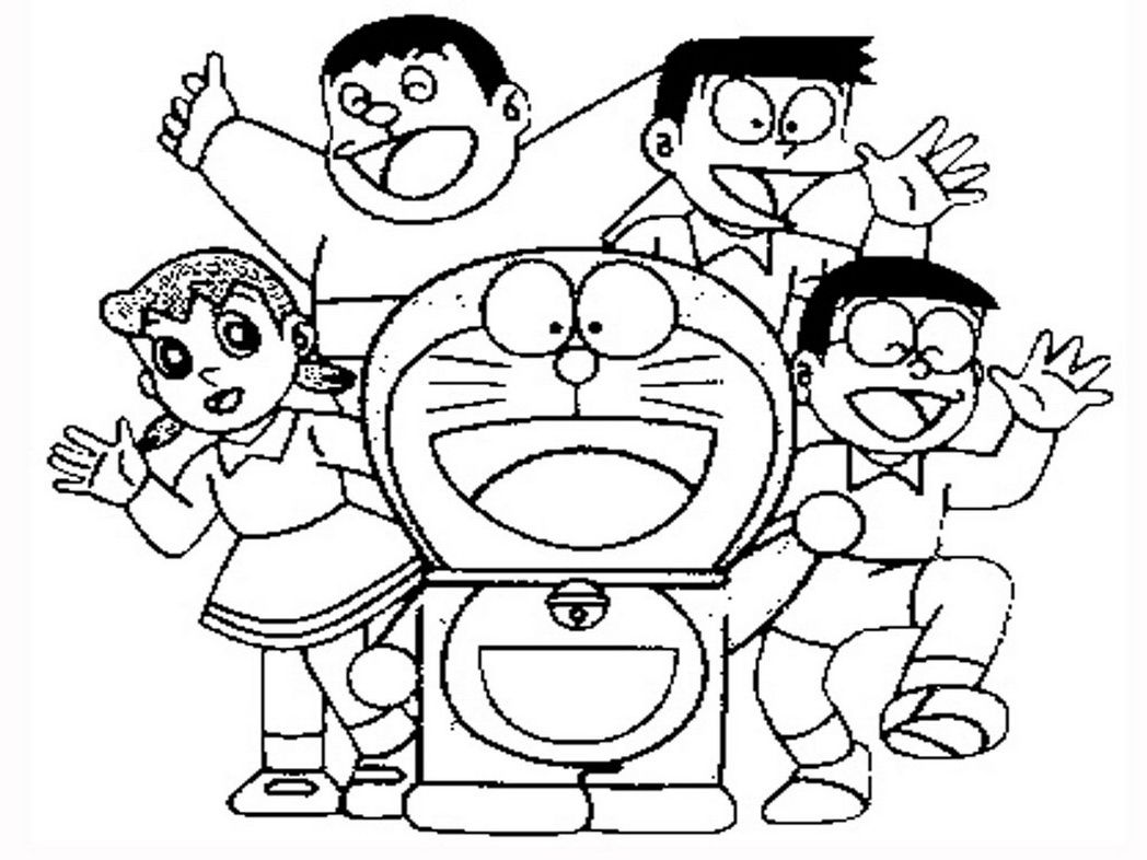 doraemon-coloring-pages-realistic-481669 « Coloring Pages for Free ...