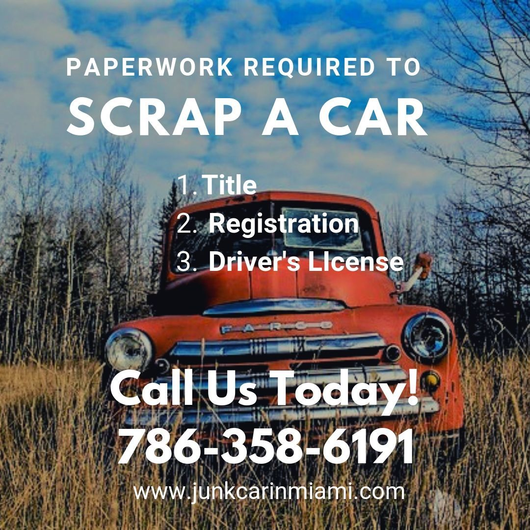 Paperwork require to scrap car car cars makemoney