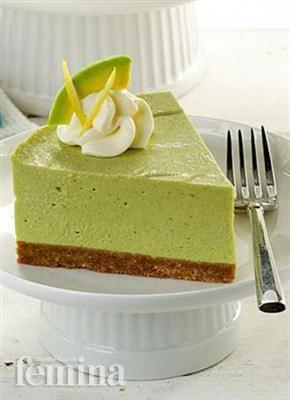 Cheesecake Avokad Lemon Femina Resep Kue Keju Kue Keju Resep Makanan Penutup