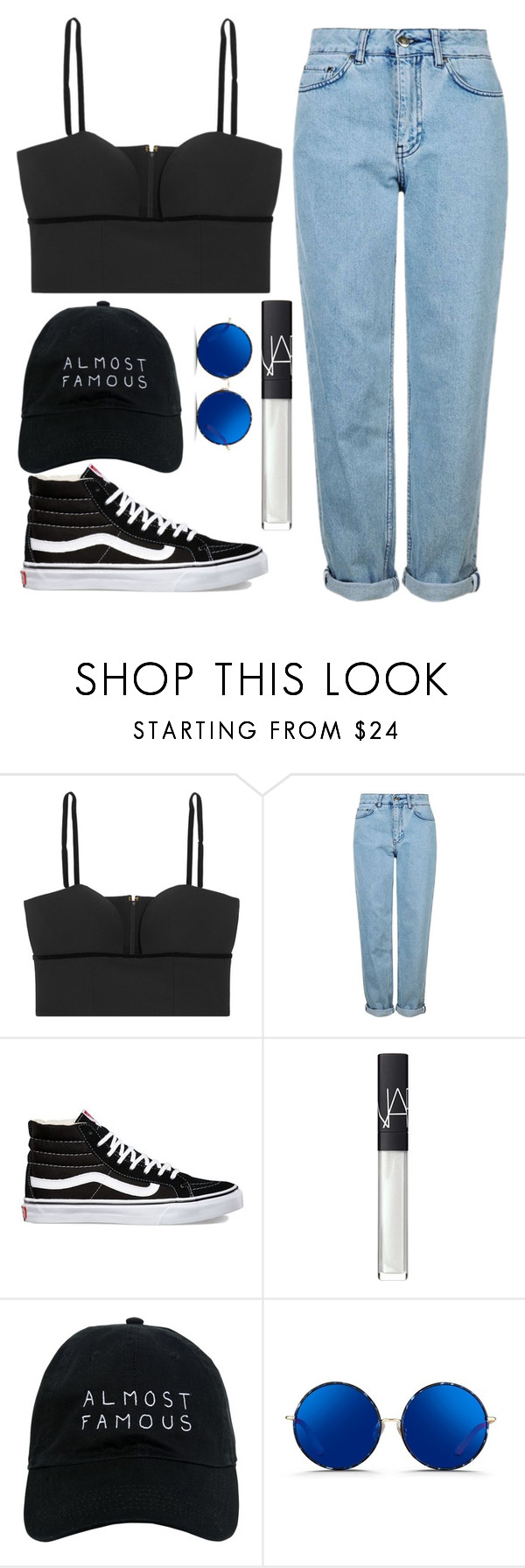 """""""i just reflect on them"""" by maddysleepy ❤ liked on Polyvore featuring Alexander McQueen, Topshop, Vans, NARS Cosmetics, Nasaseasons and Matthew Williamson"""