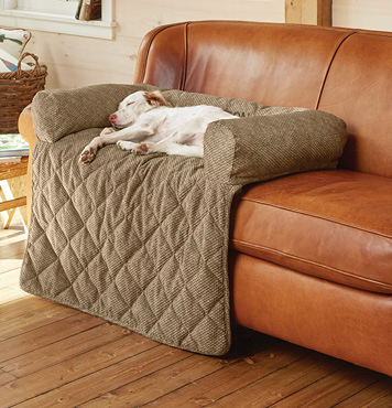 Grip-Tight® Bolstered Sofa Protector | Dog couch, Diy dog ...