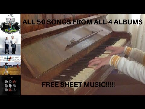 The Ultimate Twenty One Pilots Piano Medley 50 Songs From 4 Albums Free Sheet Music Youtube Twenty One Pilot Memes Free Sheet Music Twenty One Pilots