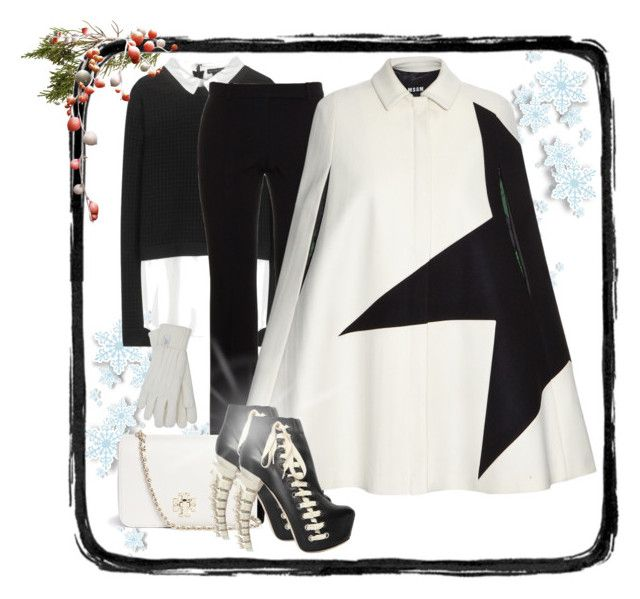 """""""Star Power!!"""" by runners ❤ liked on Polyvore featuring Alice + Olivia, Alexander McQueen, Tory Burch, MSGM, Dsquared2 and M&Co"""