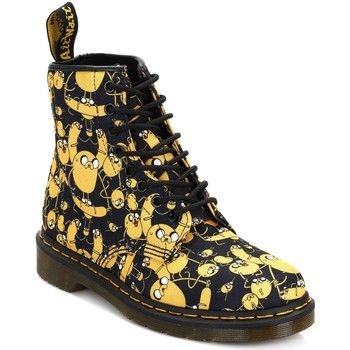 9b9845140a8 Bottines   Boots Dr Martens Dr. Martens Black Adventure Time Jake 1460  Castel Boots Dr Martens 567 350x350