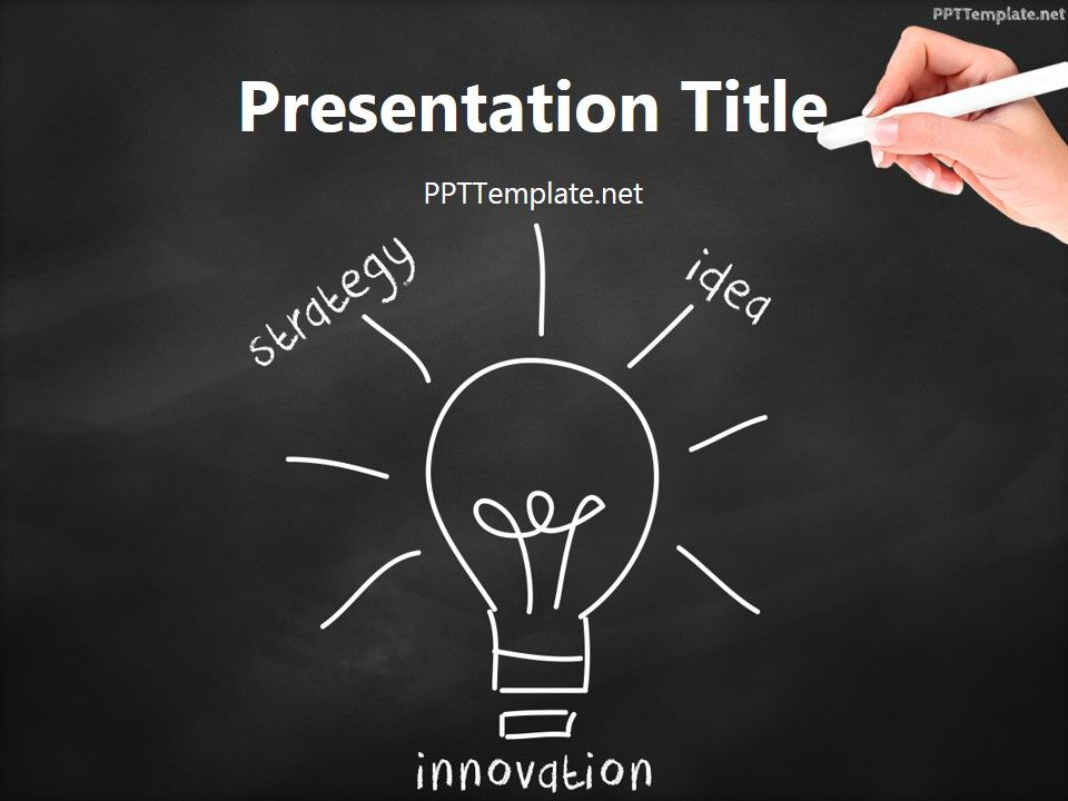 Free innovation bulb chalk hand black ppt template science ppt free innovation bulb chalk hand black ppt template toneelgroepblik Images