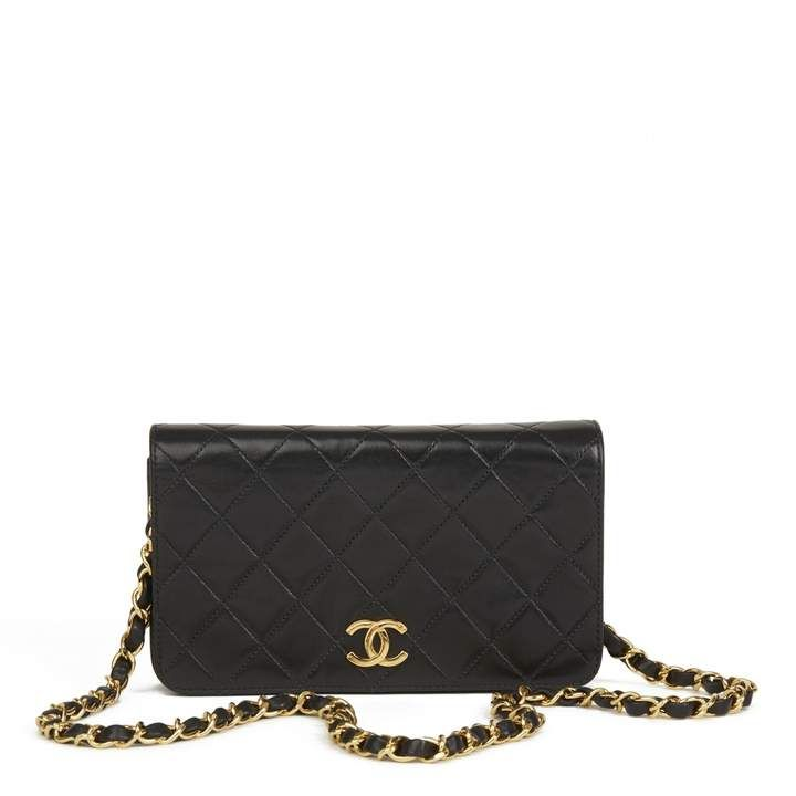 96c0ac81289ed4 ShopStyle Collective. ShopStyle Collective Black Leather Handbags, Chanel  ...