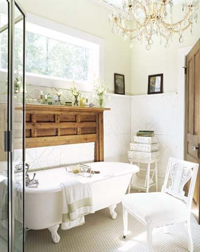 clawfoot tub shower enclosure
