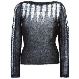 5bcad75b3f7 distressed loose knit shirts - Google Search
