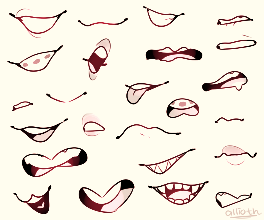 Mouthsss By Aellira Art Reference Poses Art Reference Art Reference Photos