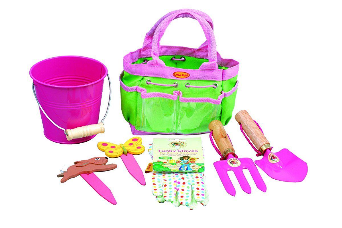 Tierra Garden 7 Lp380 Little Pals Kids Junior Garden Kit With Hand