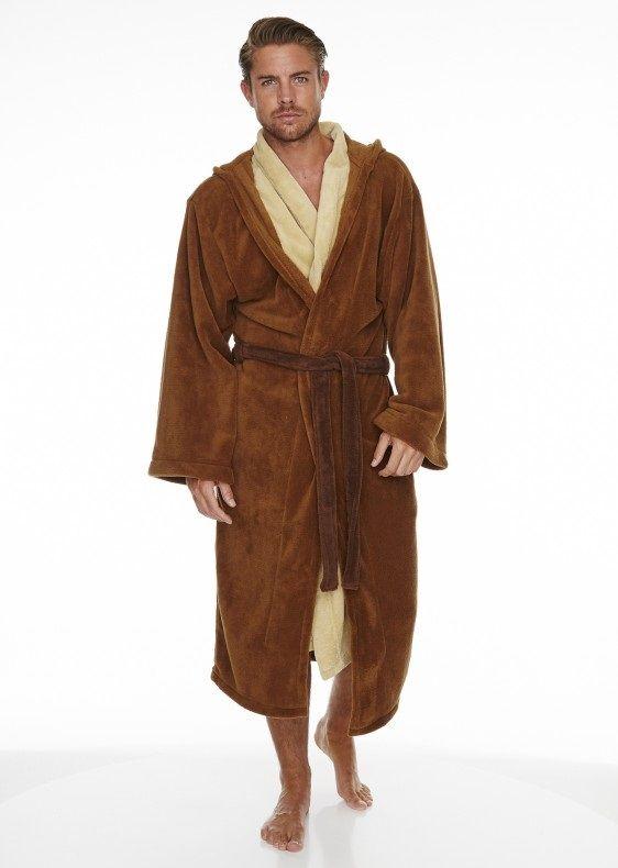 Star Wars Jedi Outfit Adult Fleece Bathrobe   clothes inspiration ...