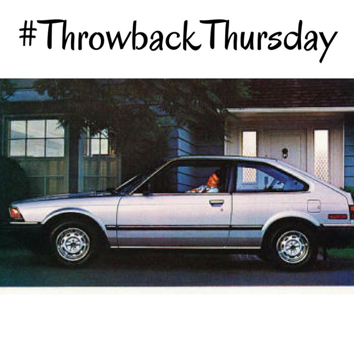 Tbt 1982 Honda Accord Hatchback Honda Accord Hatchback Throwback