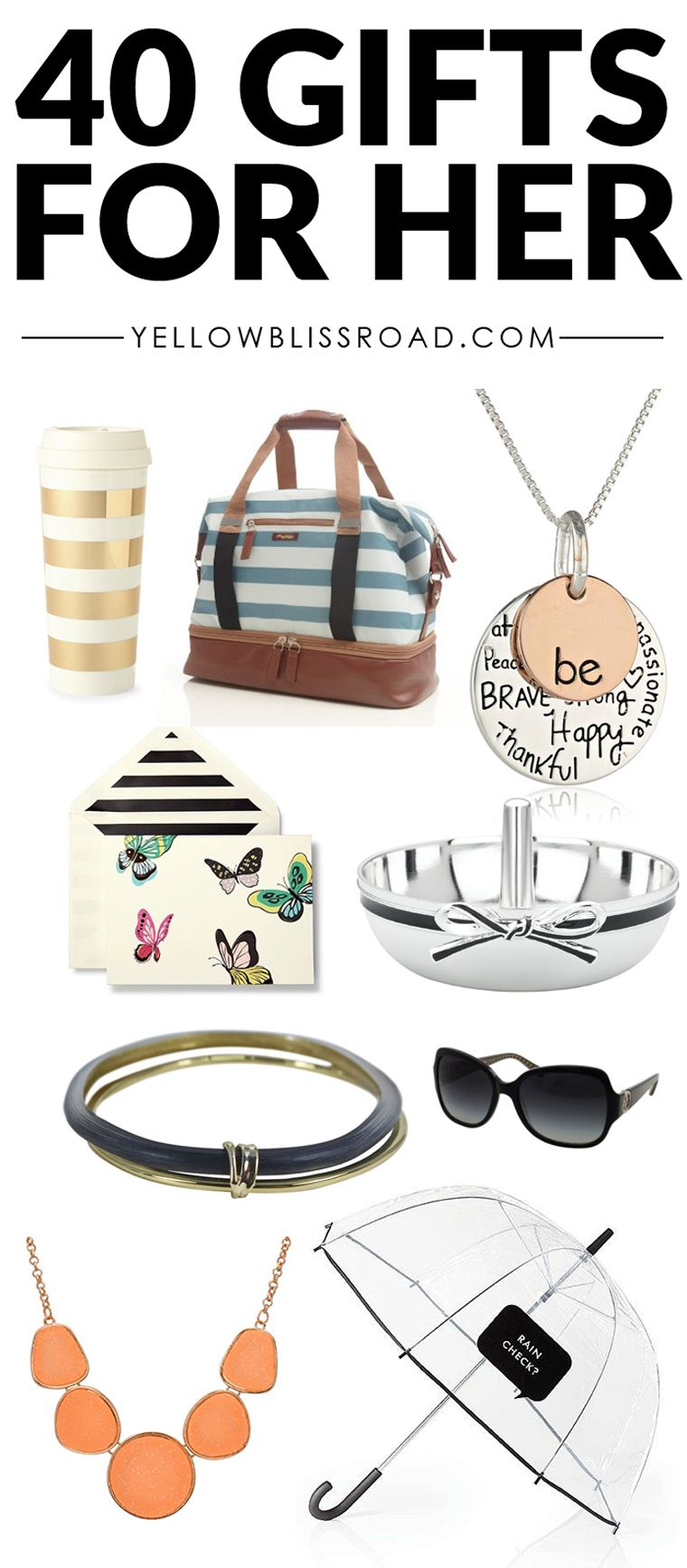 Christmas Gift Ideas for Her - For Any Budget! | Pinterest Best ...